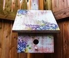 Decorative Art Wooden Birdhouse Workshop;