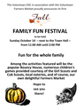 Fall Family Fun Day;