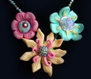 Wild Flower Necklace Workshop; Sunday, November, 18, 2012