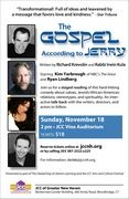 The Gospel According to Jerry; Sunday, November, 18, 2012