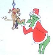 A Visit From the Grinch (and Max the Dog); Sunday, December, 16, 2012