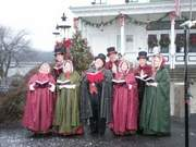 CT YULETIDE CAROLERS; Sunday, November, 25, 2012