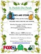 Vines & Steins Tastings; Monday, December, 3, 2012