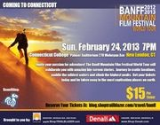 BANFF FILM FESTIVAL - New London CT; Sunday, February, 24, 2013