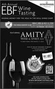 4th ANNUAL WINE TASTING EVENT; Friday, April, 26, 2013