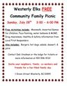 Westerly Elks Free Family Picnic;